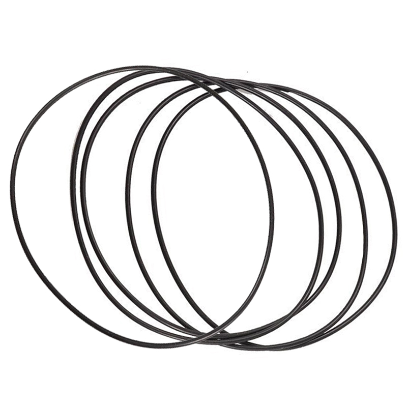 5 pcs Black Rubber Oil Seal O-ring Seal Seals 80 mm x 77 mm x 1.5 mm ...