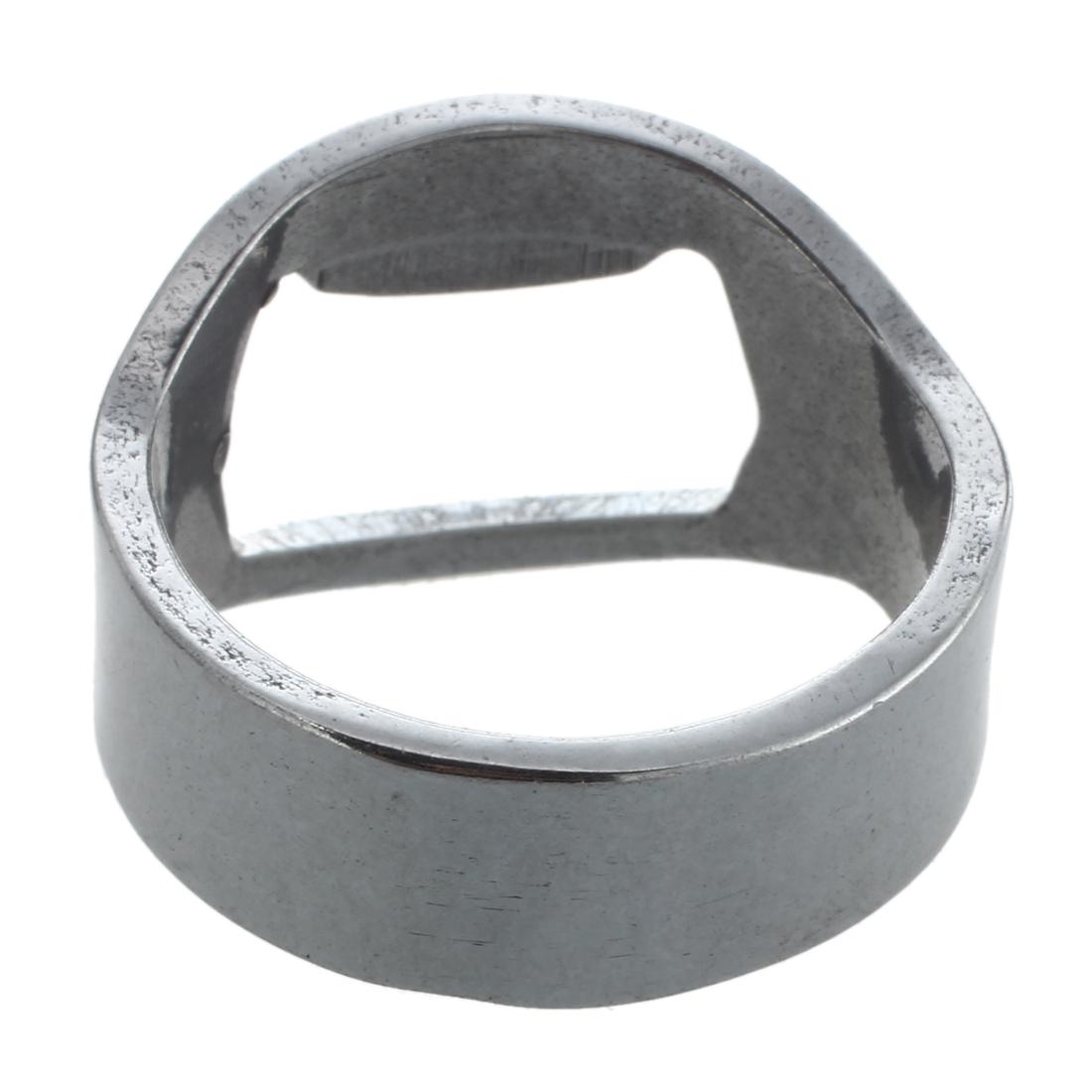 2x stainless steel finger ring bottle opener beer bottle opener m7g7 ebay. Black Bedroom Furniture Sets. Home Design Ideas