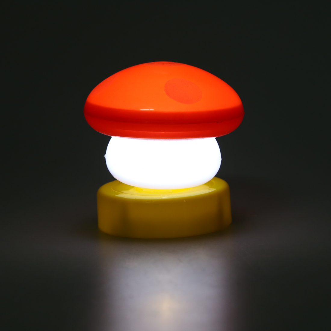 led mushroom night lights red hy ebay. Black Bedroom Furniture Sets. Home Design Ideas