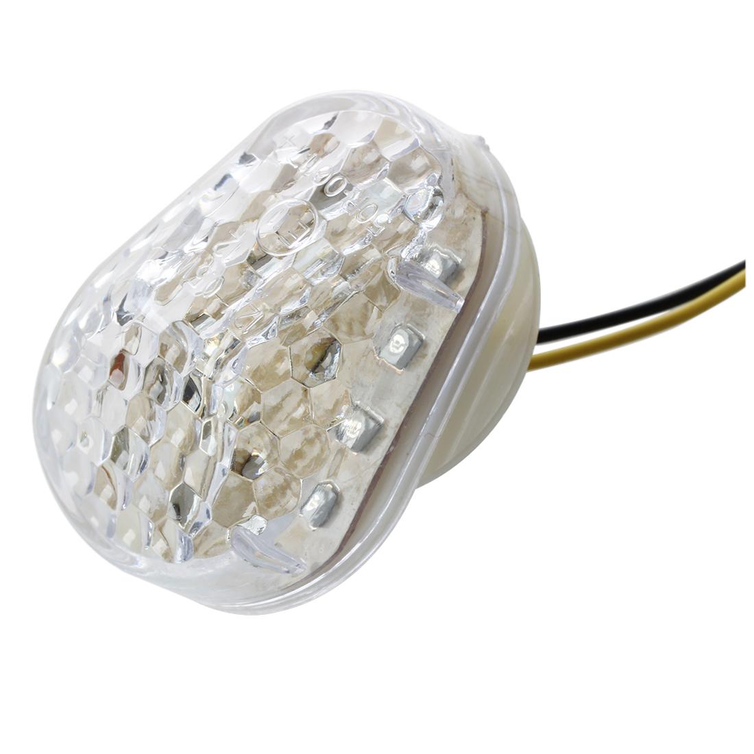 2 x feu clignotant voyant ampoule 15 leds jaune pour kawasaki moto motocycl hkp2 ebay. Black Bedroom Furniture Sets. Home Design Ideas