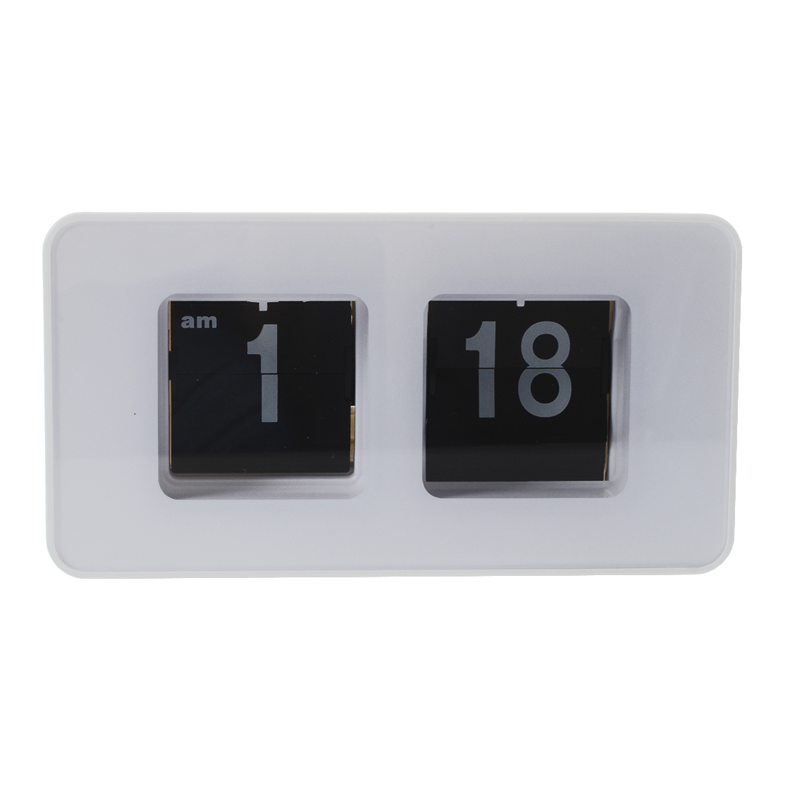 Flip flap clock white desktop clock i1j6 ebay White flip clock