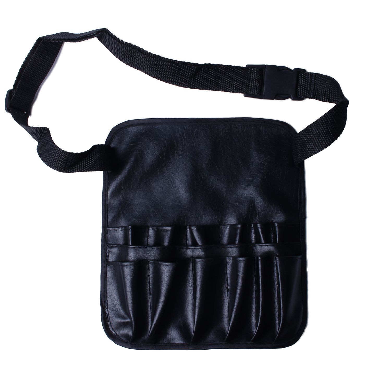 Makeup Pvc Cosmetic Makeup Brush Apron With Artist Belt Strap Professional Bag
