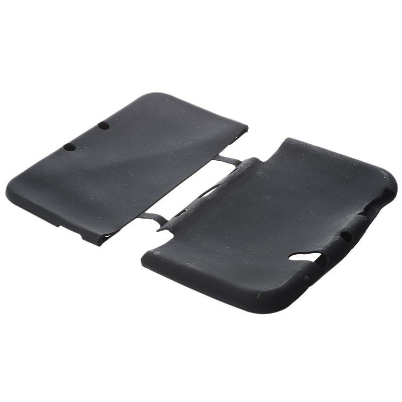 1X-Silikon-Tasche-Etui-Schutz-Huelle-Case-Cover-Skin-fuer-Nintendo-3DS-XL-LL-GY Indexbild 3