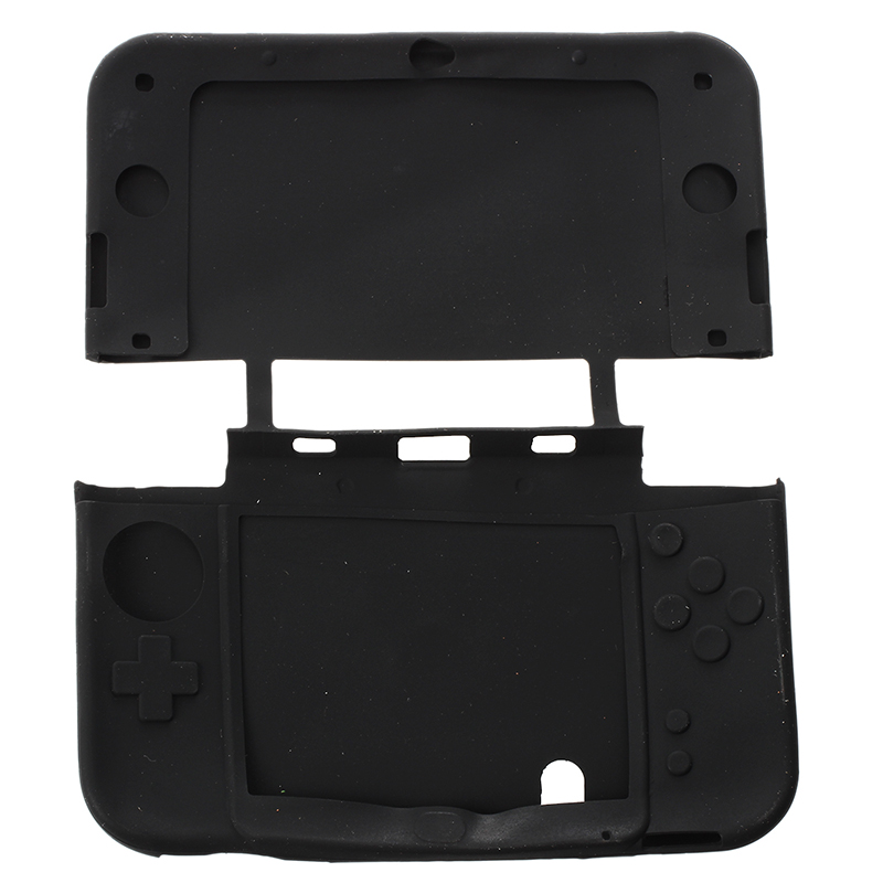 1X-Silikon-Tasche-Etui-Schutz-Huelle-Case-Cover-Skin-fuer-Nintendo-3DS-XL-LL-GY