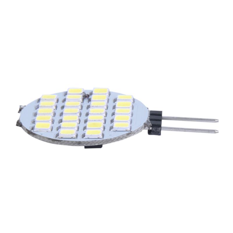 2X-G4-1210-SMD-24-LED-Lumiere-Lampe-Ampoule-SPOT-Bulb-Blanc-6000-6500K-DC-1E5I1 miniature 3