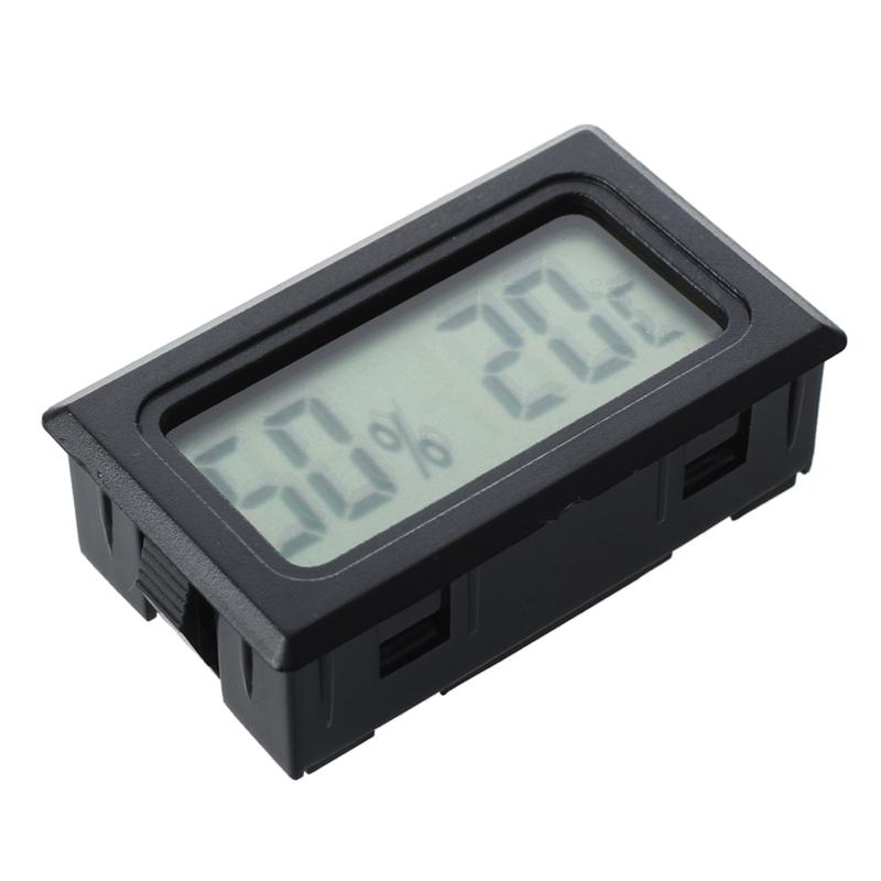 lcd thermometre interieur exterieur numerique indicateur de temperature com 26 ebay. Black Bedroom Furniture Sets. Home Design Ideas