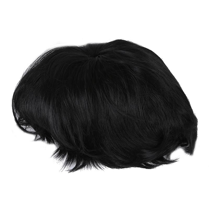 Haarteil Peruecke Kurze Haare Schwarz Wig Fuer Damen Fein P1w4 Ebay