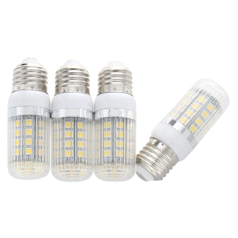 4X E27 36 5050 SMD LED Bulb Light Spotlight Warm White AC230V 6W G8C9