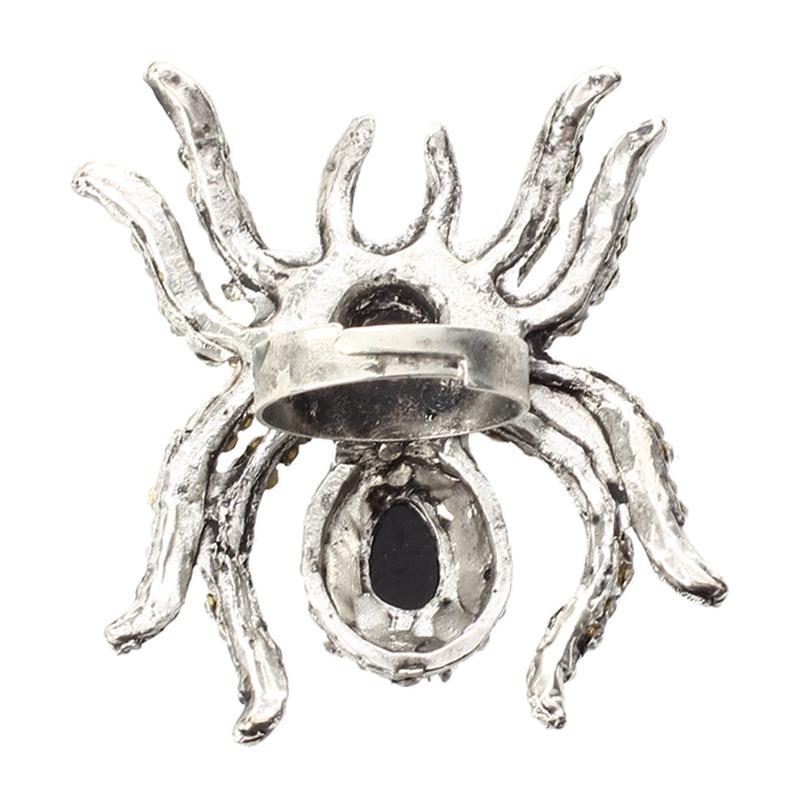 Anillo-retro-de-plata-del-Tibet-diamante-imitacion-la-arana-gotico-S5P3k3E2