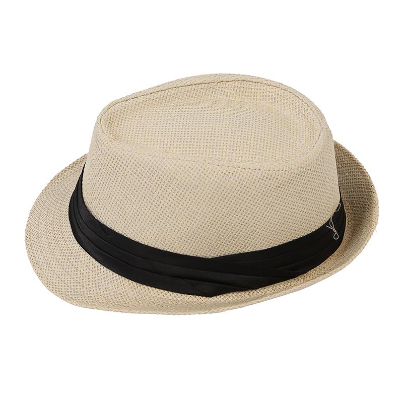 1X-Chapeau-de-soleil-Fedora-de-paille-de-loisirs-pour-les-amoureux-U1I1-hu2 miniature 3