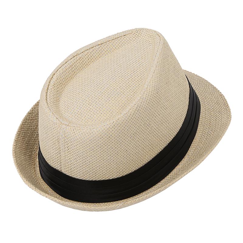 1X-Chapeau-de-soleil-Fedora-de-paille-de-loisirs-pour-les-amoureux-U1I1-hu2 miniature 4