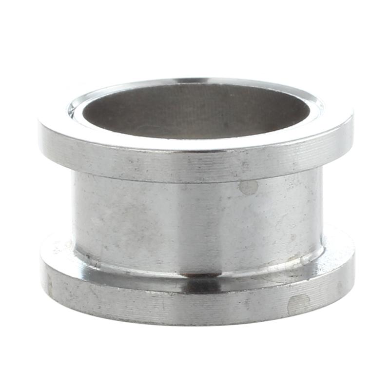 1X-Silver-Steel-Gauge-Earring-Punk-Flesh-Tunnel-Ear-Plugs-Rimmed-Flat-StyleU2C7 thumbnail 4