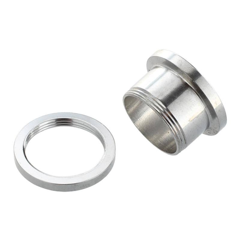 1X-Silver-Steel-Gauge-Earring-Punk-Flesh-Tunnel-Ear-Plugs-Rimmed-Flat-StyleU2C7 thumbnail 5