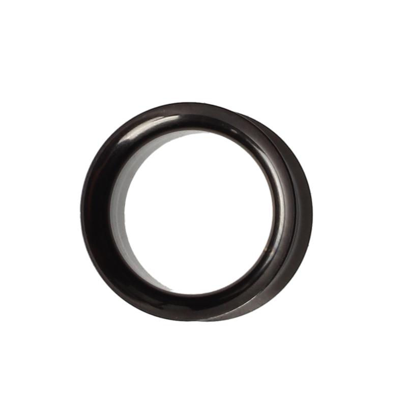 2X-Silver-Steel-Gauge-Earring-Punk-Flesh-Tunnel-Ear-Plugs-Rimmed-Flat-Style2O1 thumbnail 10