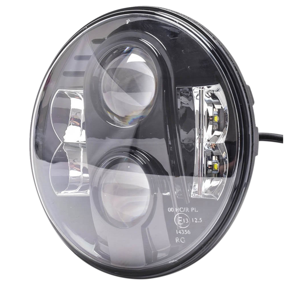 7 inch led headlight for jeep tj headlights wrangler. Black Bedroom Furniture Sets. Home Design Ideas