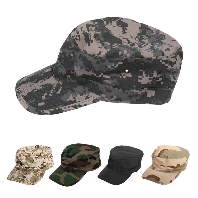 1X(Military Army Urban Sun Visor Cap Mens Lady Hat Camo Camouflage ... 1a56158362b