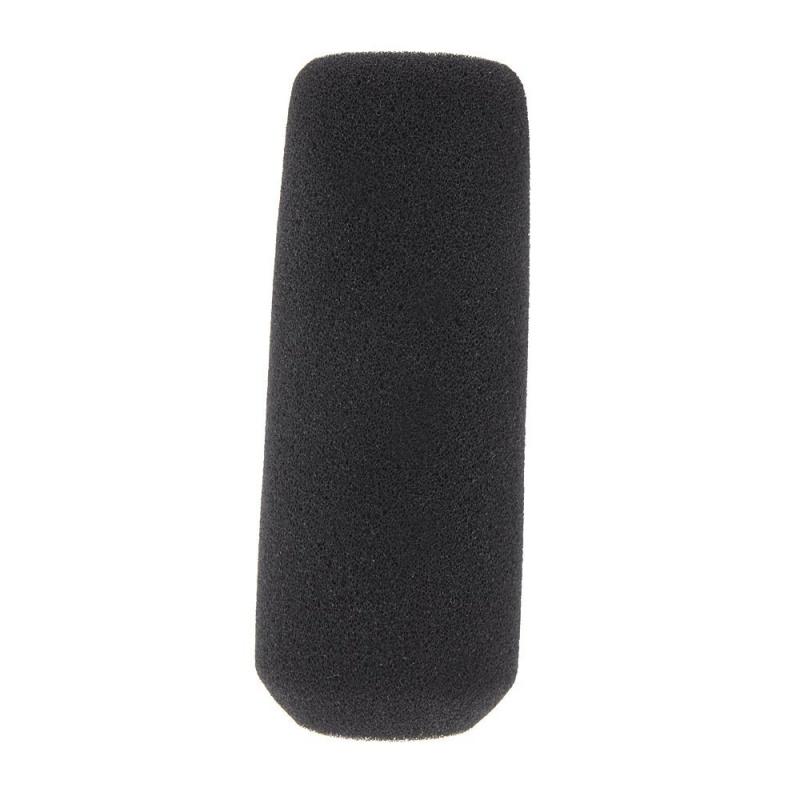 12cm-Parabrisas-de-esponja-de-espuma-de-minifono-Cubierta-para-minifono-Negro-ST