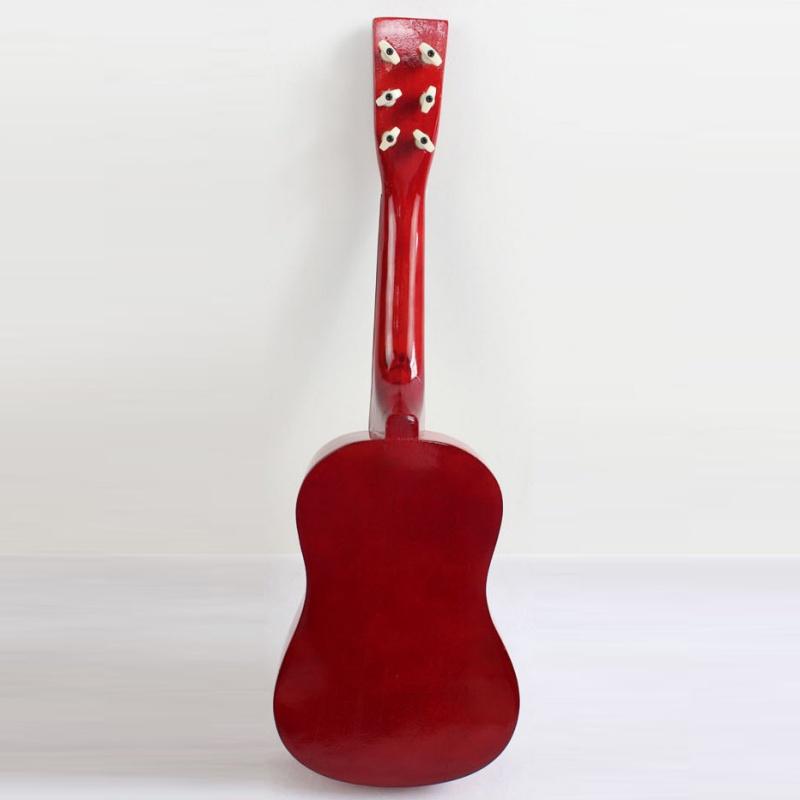23-034-Guitarra-Mini-Guitarra-Juguete-musical-de-ninos-de-tilo-Instrumento-de-C9P8 miniatura 3