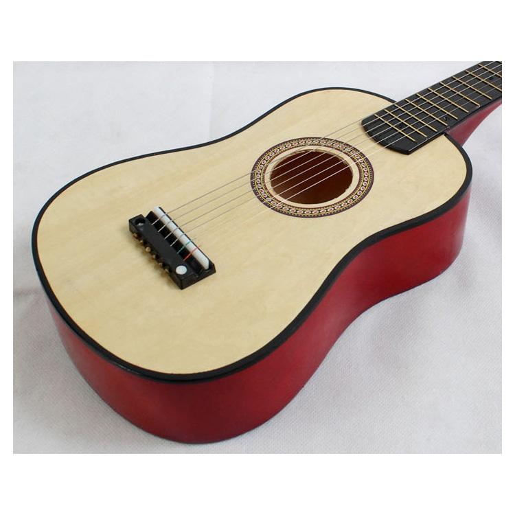 23-034-Guitarra-Mini-Guitarra-Juguete-musical-de-ninos-de-tilo-Instrumento-de-C9P8 miniatura 4