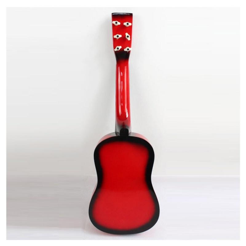 23-034-Guitarra-Mini-Guitarra-Juguete-musical-de-ninos-de-tilo-Instrumento-de-C9P8 miniatura 7