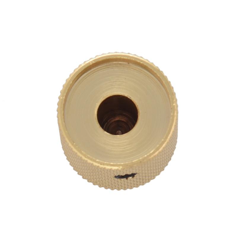 3pzs-Perilla-de-metralla-de-metal-Barril-de-estria-para-piezas-de-guitarra-e-PB miniatura 3