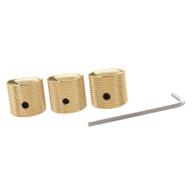 3pzs-Perilla-de-metralla-de-metal-Barril-de-estria-para-piezas-de-guitarra-e-PB miniatura 7