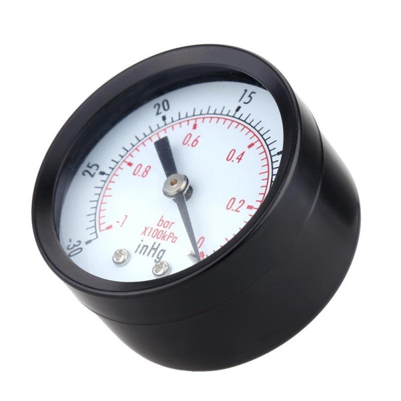 0-30inHg-0-1bar-Mini-cadran-Manometre-de-pression-d-air-barometre-me-SC miniature 3