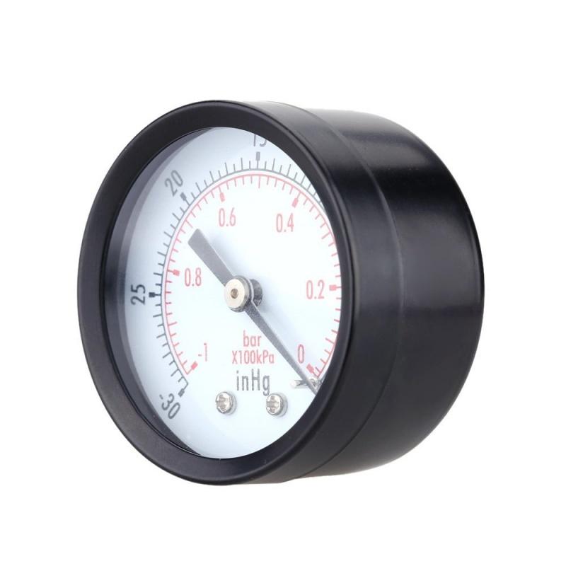 0-30inHg-0-1bar-Mini-cadran-Manometre-de-pression-d-air-barometre-me-SC miniature 5