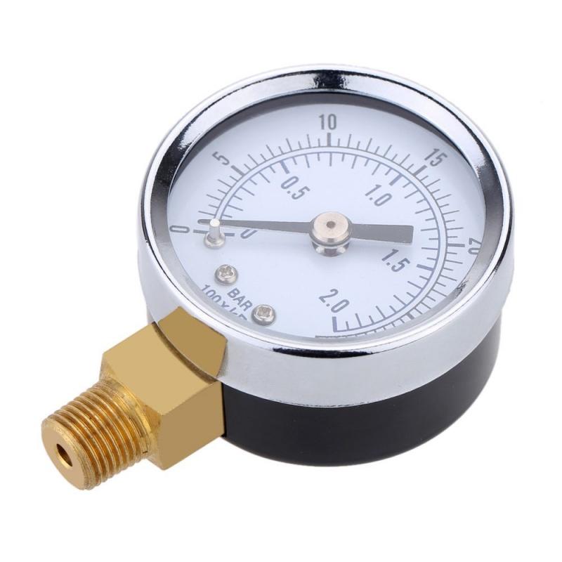 0-30inHg-0-1bar-Mini-cadran-Manometre-de-pression-d-air-barometre-me-SC miniature 10