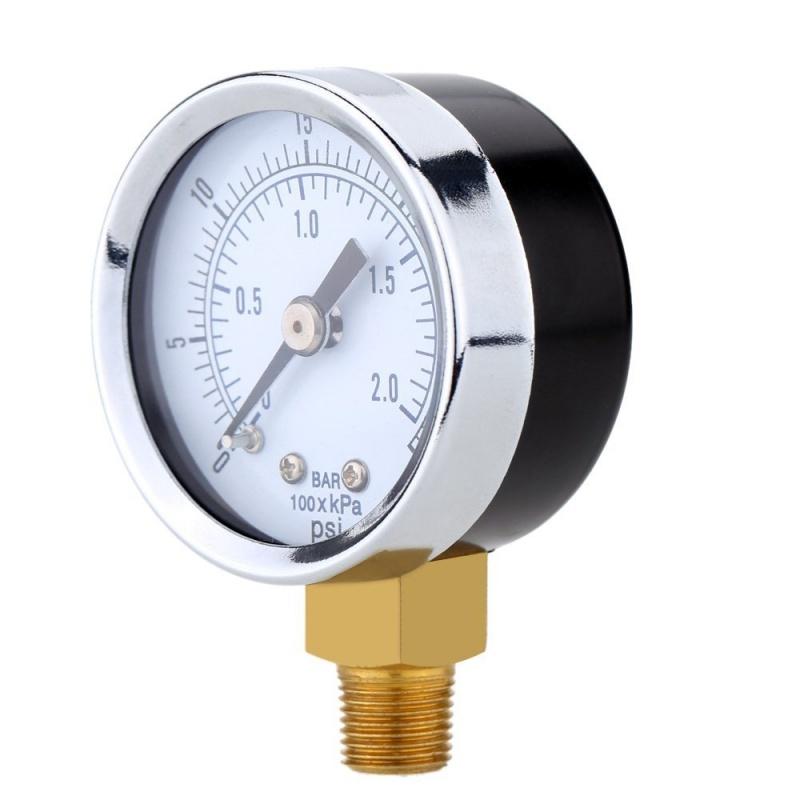 0-30inHg-0-1bar-Mini-cadran-Manometre-de-pression-d-air-barometre-me-SC miniature 11