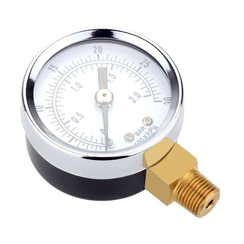 0-30inHg-0-1bar-Mini-cadran-Manometre-de-pression-d-air-barometre-me-SC miniature 14