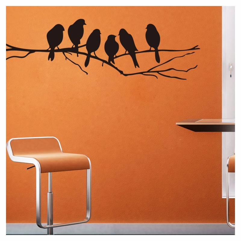 birds on a wire wall stickers birds wall stickers quote vinyl wall