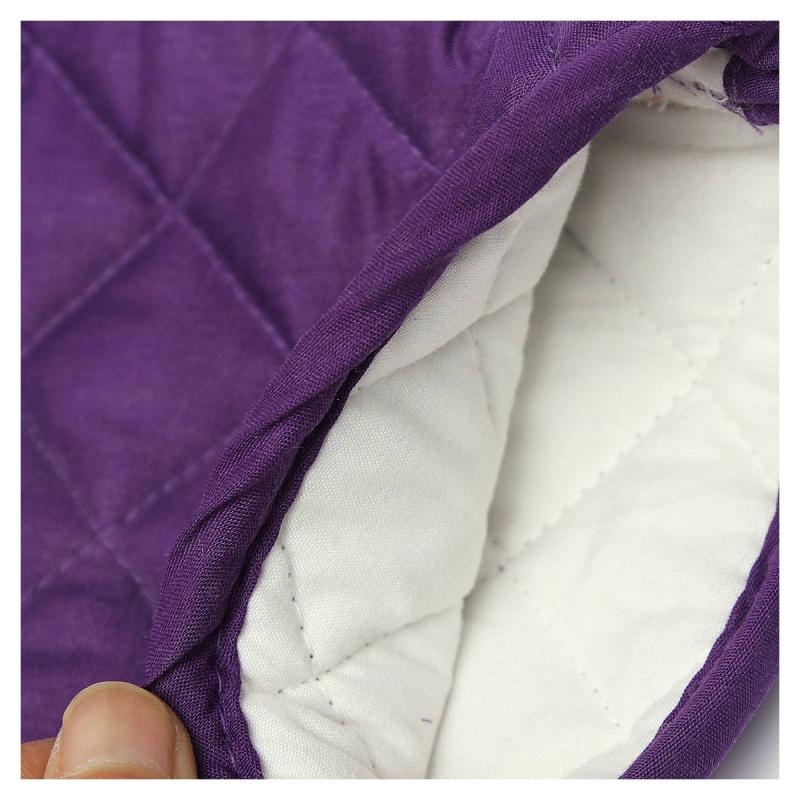 1-Paire-resistant-a-la-chaleur-en-Coton-gants-de-four-cuisine-cuisson-moufl-W1C6 miniature 3