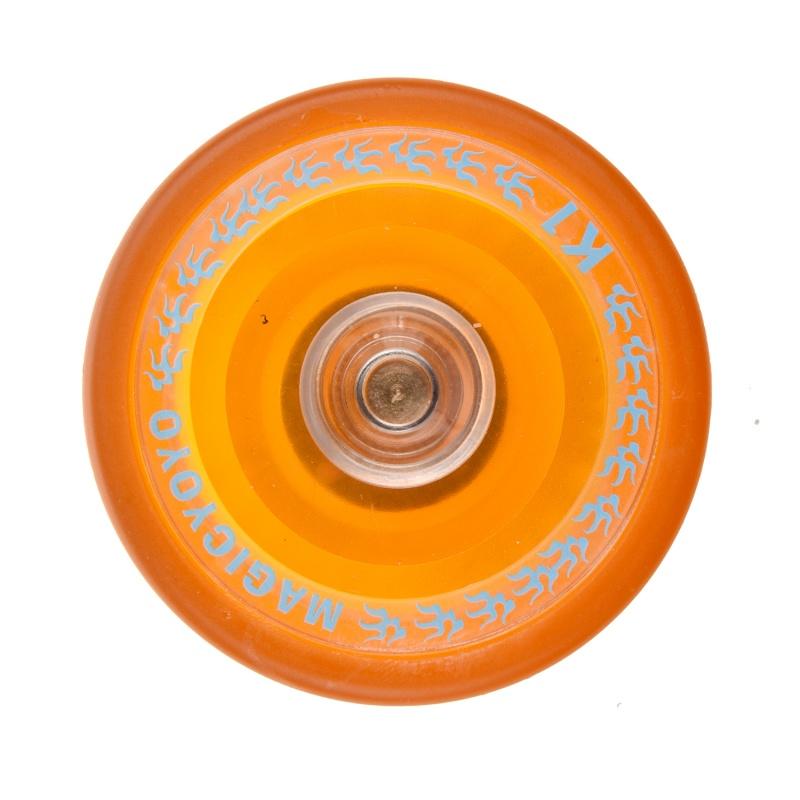 MAGIC-YOYO-K1-Spin-ABS-Yoyo-Nouveaux-PVC-professionnel-Jouets-Yoyo-avec-Hub-W6Z8 miniature 3