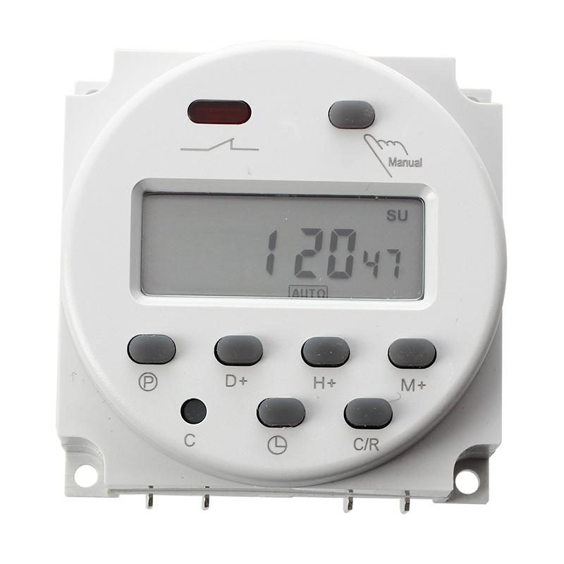 LCD-Temporizador-programable-de-potencia-de-control-digital-DC-12V-16A-Interr-ST