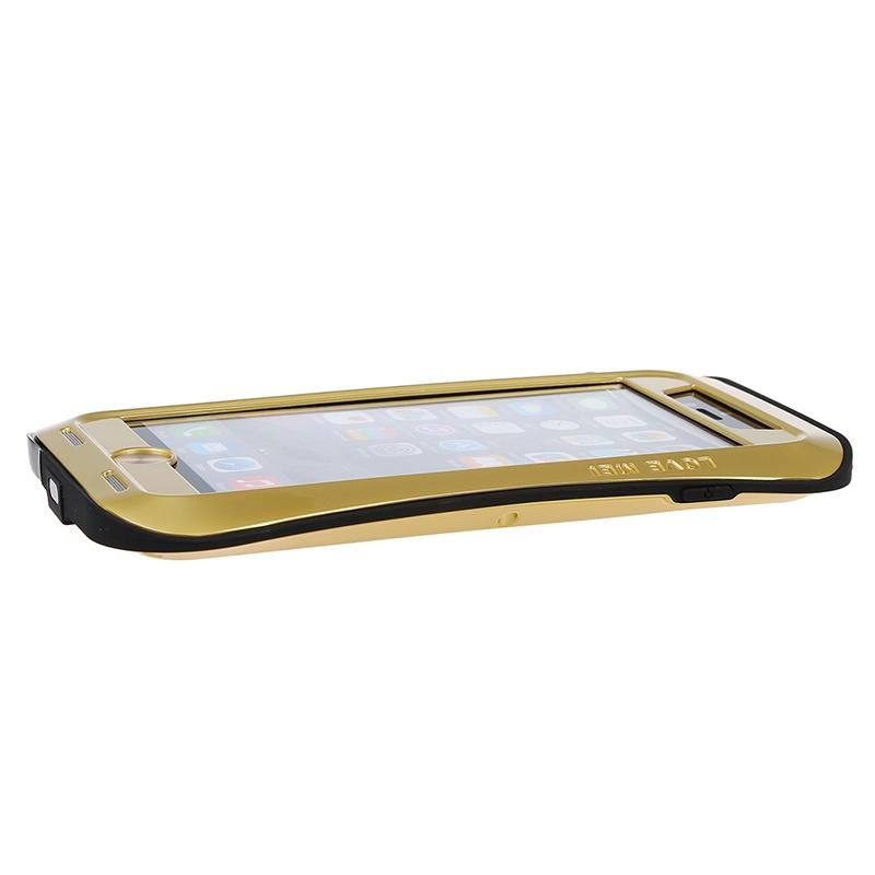LOVE-MEI-Waist-Aluminum-Metal-Shock-Water-Proof-Case-For-iPhone-6-Plus-5-5-034-G2U7