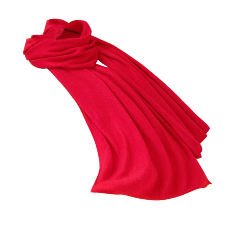 Unisex-Rectangle-Shape-Winter-Warm-Long-Knitted-Scarf-Red-W2Y9 thumbnail 3