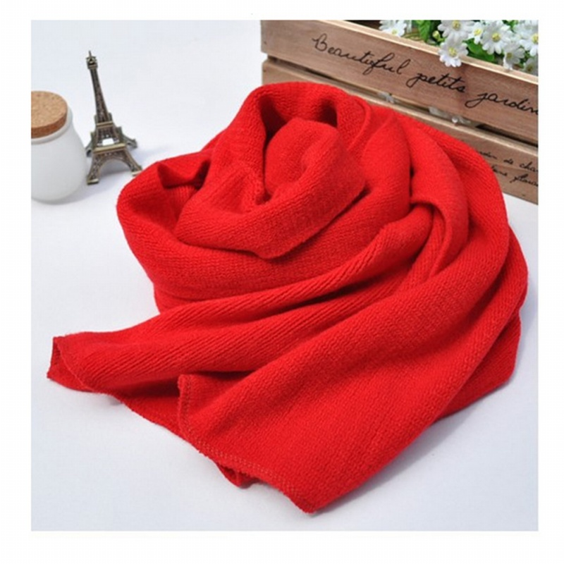 Unisex-Rectangle-Shape-Winter-Warm-Long-Knitted-Scarf-Red-W2Y9