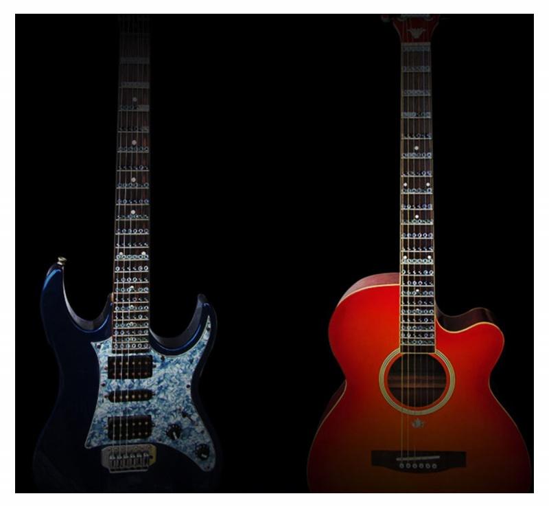 2X-sticker-pour-le-Fretboard-de-la-guitare-sticker-pour-la-touche-pour-la-pr-E6 miniature 9