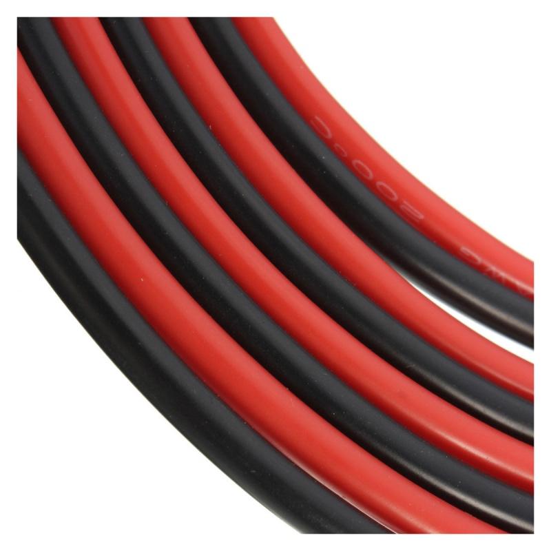 12 AWG 10 Ft (3m) Spur Silikon Kabel Flexibles Kupfer Kabel fuer RC ...