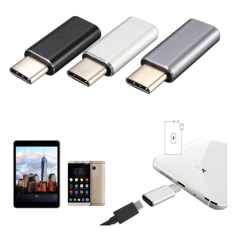 5X-Tipo-C-Conector-macho-a-hembra-USB-2-0-3-1-Adaptador-de-conversion-de-da-W3P9