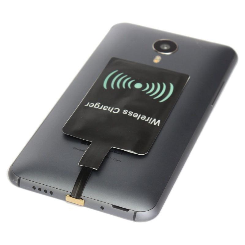 4x micro usb qi wireless ladegeraet lade empfaenger chip android handy schwar pt ebay. Black Bedroom Furniture Sets. Home Design Ideas