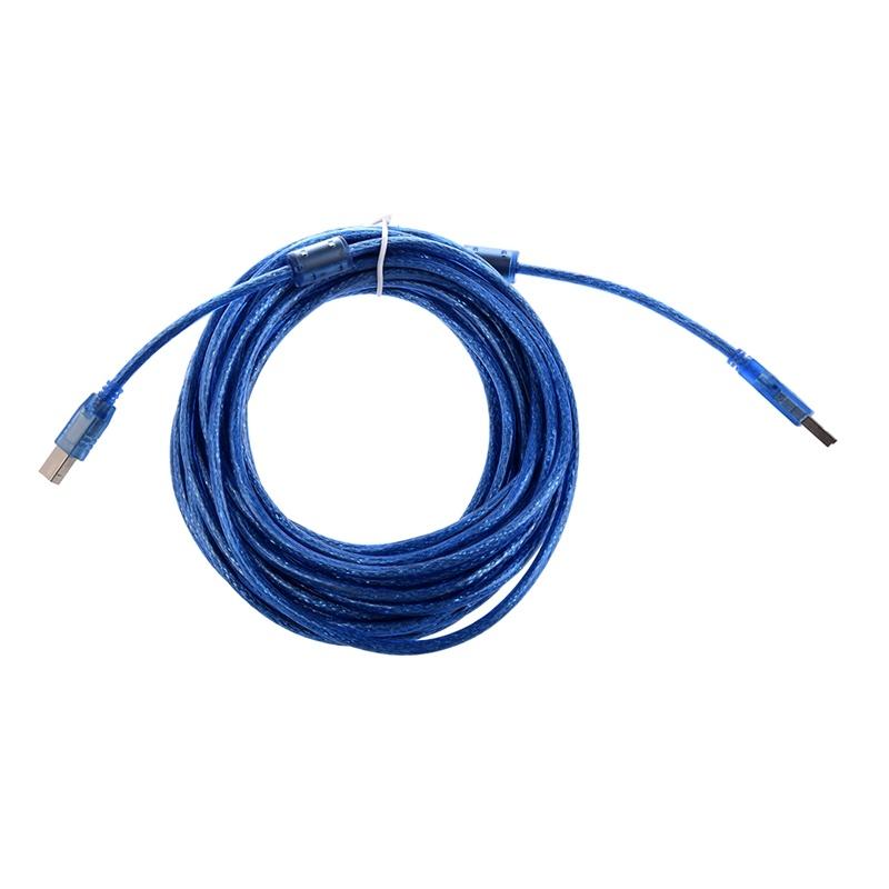 2X-Printer-Extension-Cable-USB-USB-B-Male-Os-Length-10-m-TD thumbnail 2