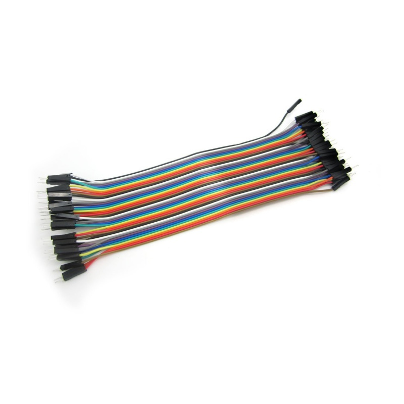 5X 40pcs 10cm Female To Female Dupont Wire Jumper Cable for Arduino Breadbo G7T2