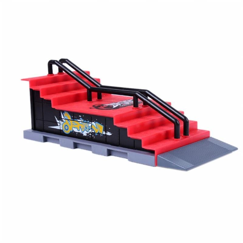 Skate Park Ramp Parts for Tech Deck FingerBoard Finger Board Ultimate Parks 91C