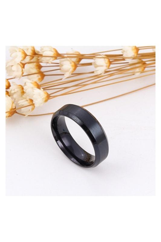 Stainless-Steel-Ring-Band-Titanium-Men-Wedding-R9B2 thumbnail 3