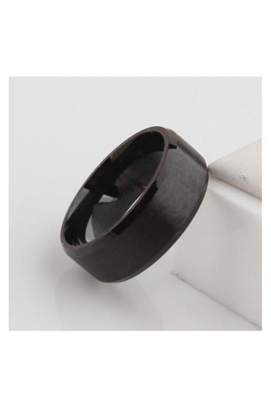 Stainless-Steel-Ring-Band-Titanium-Men-Wedding-R9B2 thumbnail 4