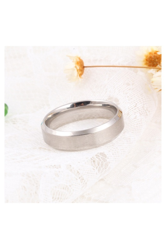 Stainless-Steel-Ring-Band-Titanium-Men-Wedding-R9B2 thumbnail 7