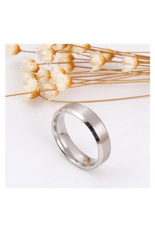 Stainless-Steel-Ring-Band-Titanium-Men-Wedding-R9B2 thumbnail 8