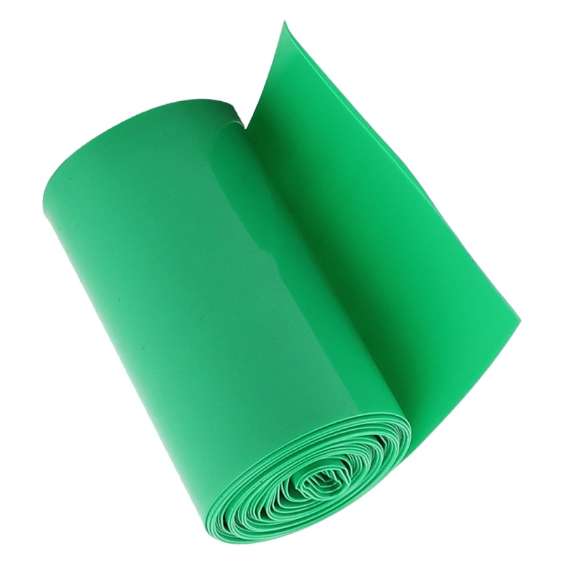 2M-50mm-Dark-Green-PVC-Heat-Shrink-Tubing-Wrap-for-2-x-18650-Battery-N1Q5